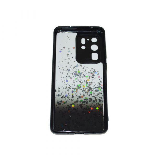 SAMSUNG S20 ULTRA PASTILLE GLITTER CASE – BLACK