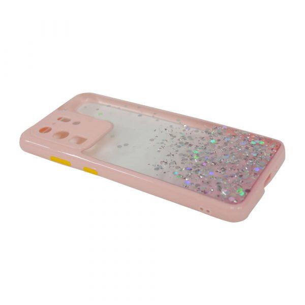 SAMSUNG S20 ULTRA PASTILLE GLITTER CASE – PINK