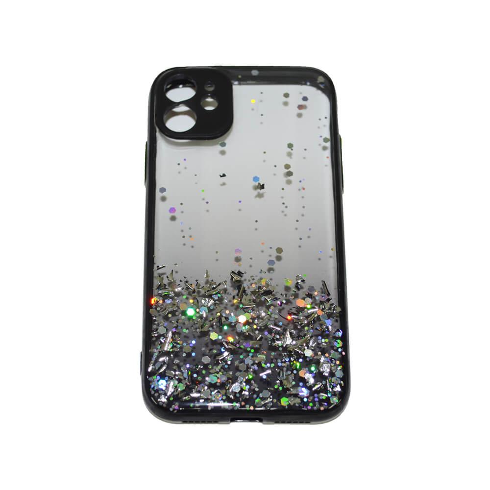 IPHONE 11 6.1″ PASTILLE GLITTER CASE – BLACK