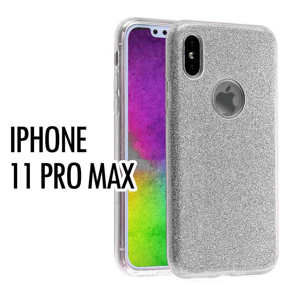 IPHONE 11 PRO MAX GLITTER – SILVER