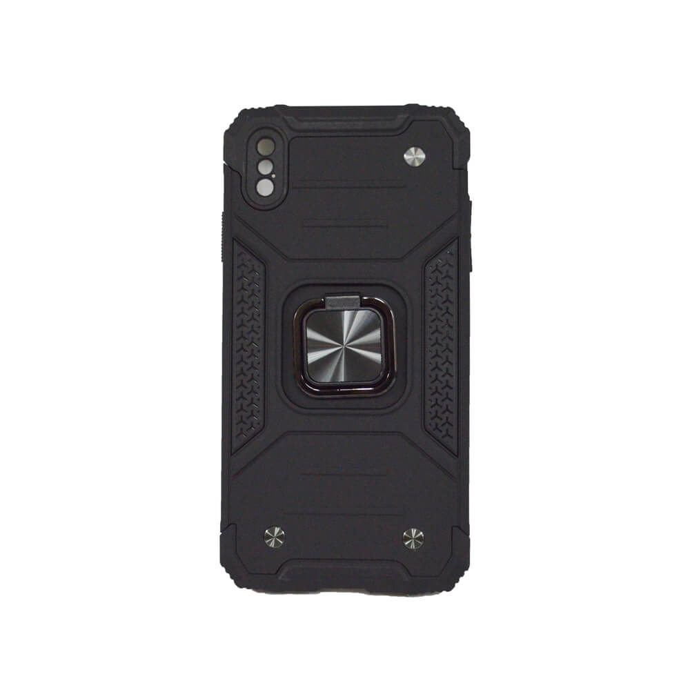 IPHONE XS MAX RING ARMOUR CASE – BLACK
