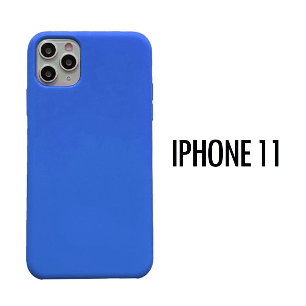 IPHONE 11 SILICONE CASE – BLUE