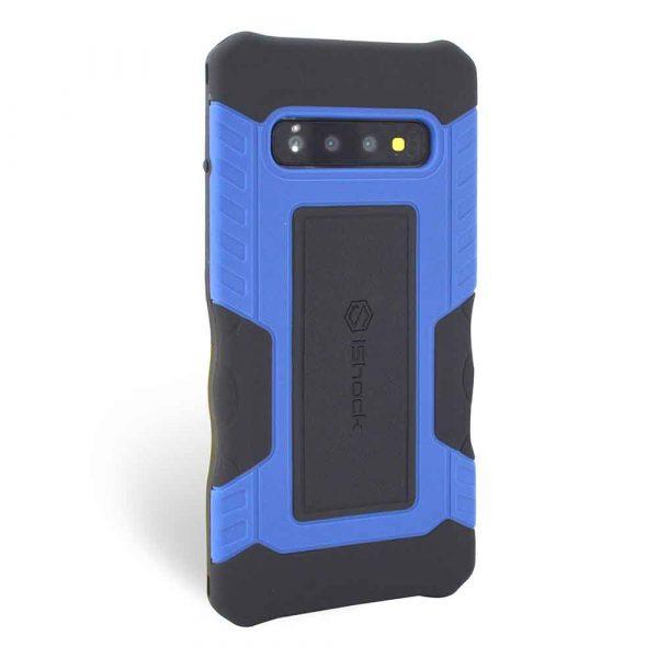 ISHOCK SAMSUNG GALAXY S10 PLUS RUGGED CASE – BLUE