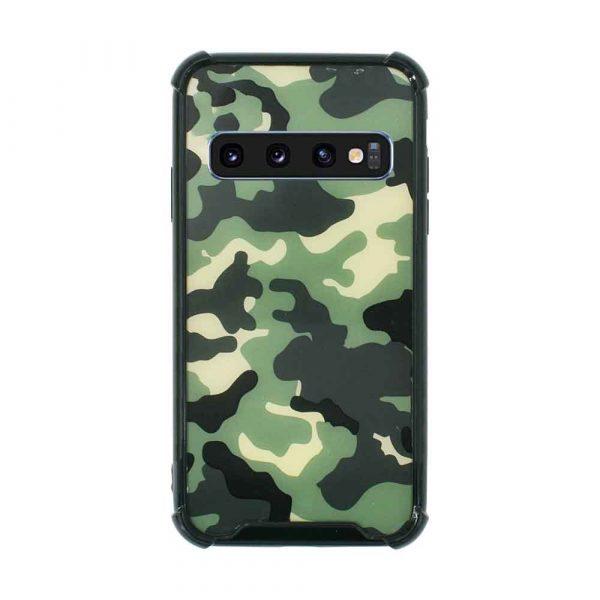 SAMSUNG GALAXY S10 PLUS ANTI BURST ARMY CASE – CAMOUFLAGE