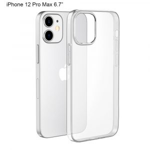IPHONE 12 PRO MAX 6.7″ CLEAR GEL CASE
