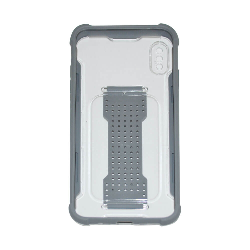 IPHONE XS MAX HAND BAND CASE – GREY