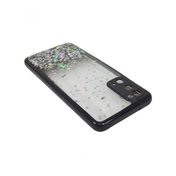 SAMSUNG S20 PASTILLE GLITTER CASE – BLACK