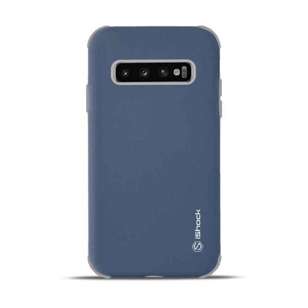 ISHOCK SAMSUNG GALAXY S10 PLUS DUO SOLID CASE – BLUE