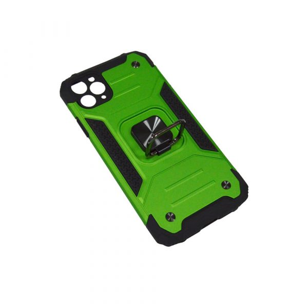 IPHONE 11 PRO MAX 6.5″ RING ARMOUR CASE – GREEN