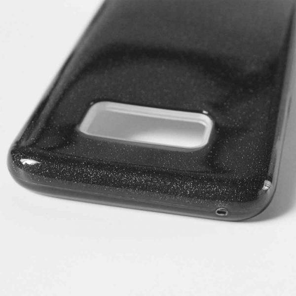 SAMSUNG GALAXY S10 PLUS GLITTER CASE – BLACK