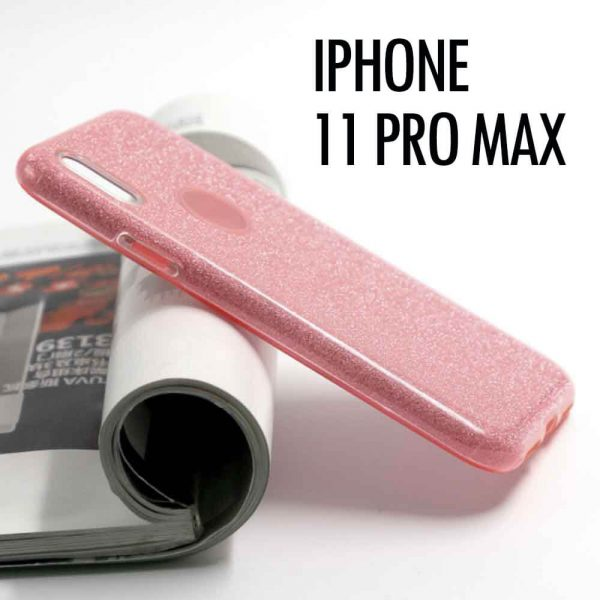 IPHONE 11 PRO MAX GLITTER – PINK