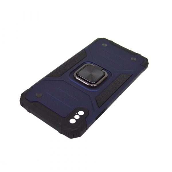 IPHONE XS MAX RING ARMOUR CASE – BLUE