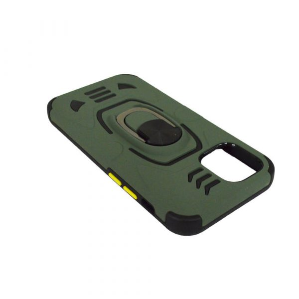 IPHONE 12 PRO MAX 6.7 ARMOUR MAGNET RING CASE GREEN
