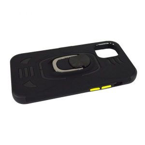 IPHONE 12 PRO MAX 6.7 ARMOUR MAGNET RING CASE BLACK