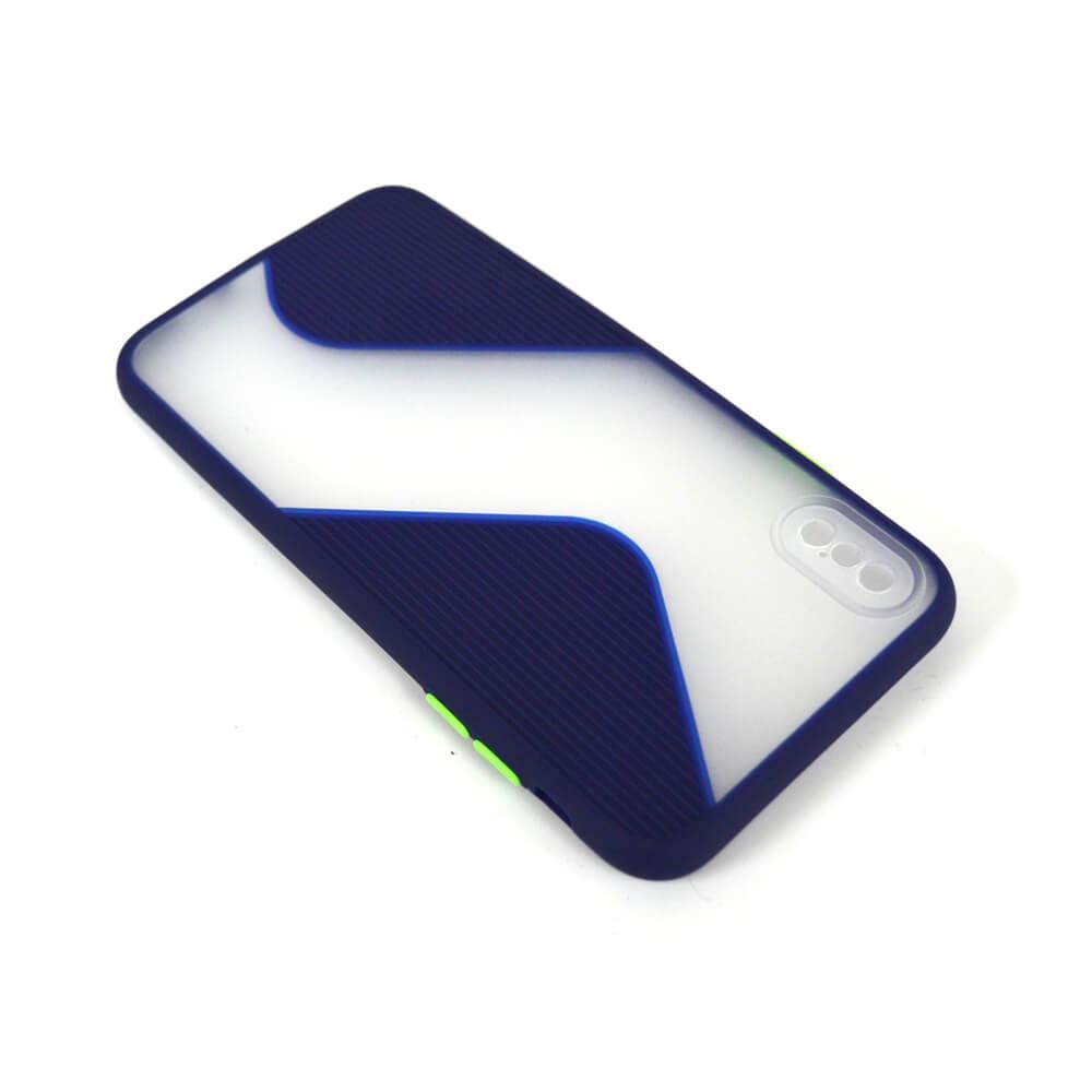 IPHONE XS MAX SLINE CASE – BLUE