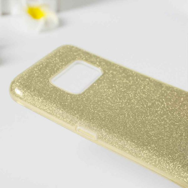 SAMSUNG GALAXY S10 PLUS GLITTER CASE – GOLD