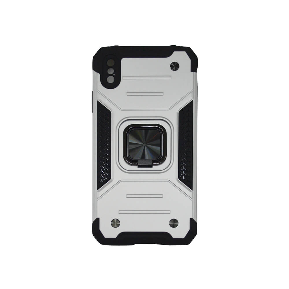 IPHONE 11 PRO MAX 6.5″ RING ARMOUR CASE – SILVER