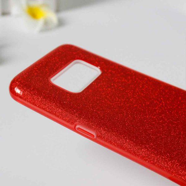 SAMSUNG GALAXY S10 PLUS GLITTER CASE – RED