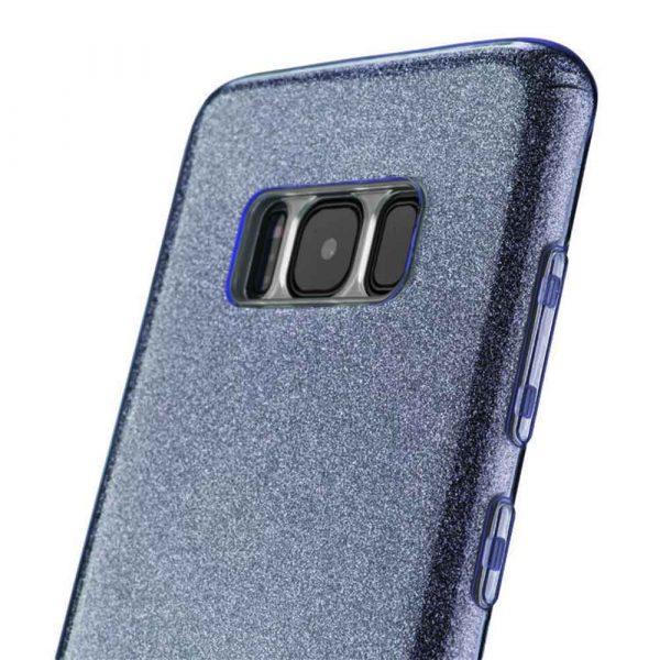 SAMSUNG GALAXY S8 GLITTER CASE – BLACK