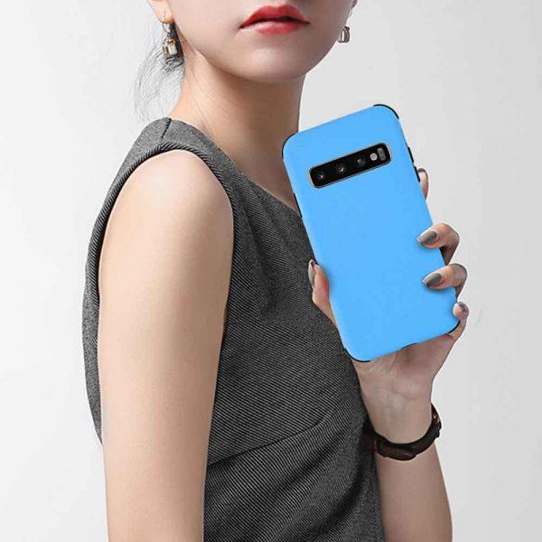 ISHOCK SAMSUNG GALAXY S10 PLUS SILICONE SHOCK – BLUE