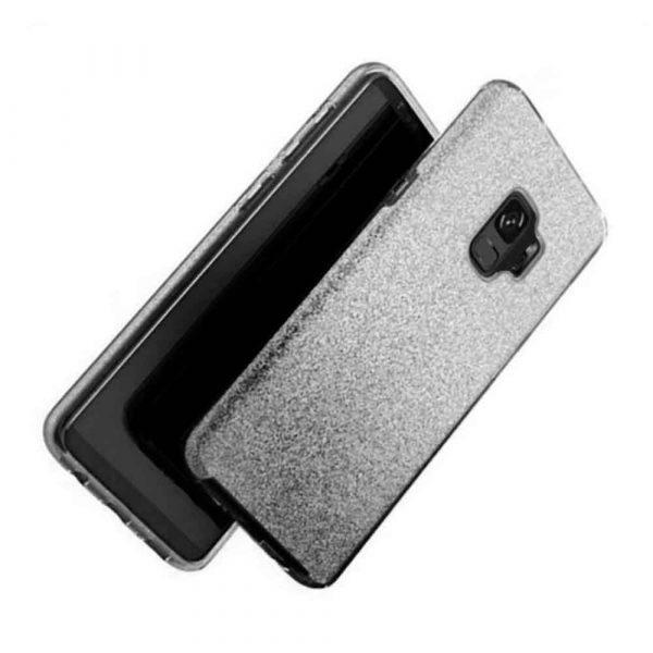 SAMSUNG GALAXY S9 FADED GLITTER – BLACK