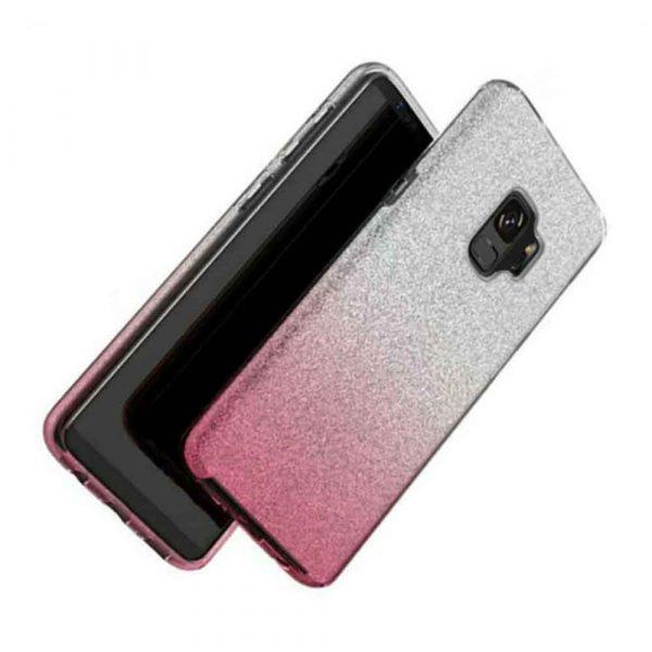 SAMSUNG GALAXY S9 FADED GLITTER – PINK