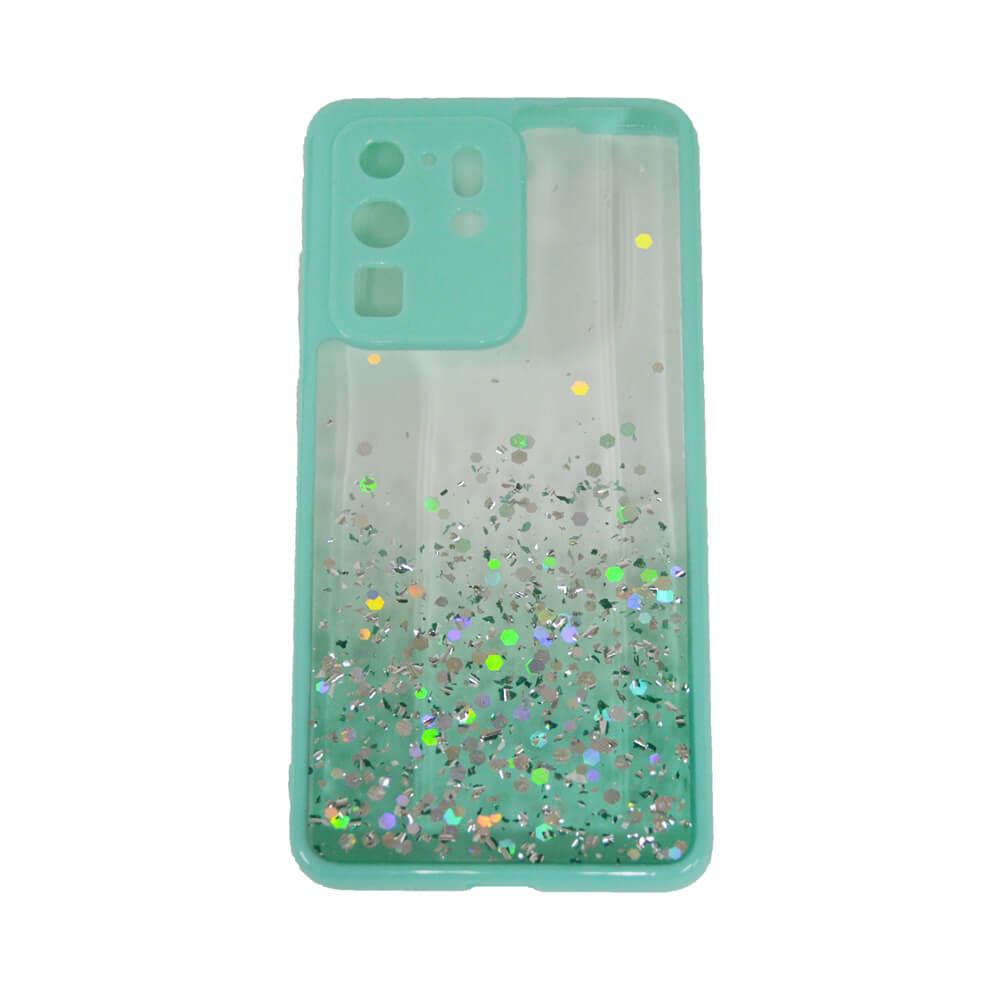 SAMSUNG S20 ULTRA PASTILLE GLITTER CASE – GREEN