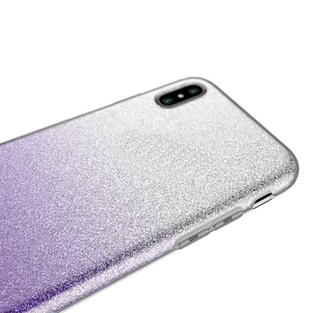 IPHONE XS MAX FADED GLITTER – PURPLE